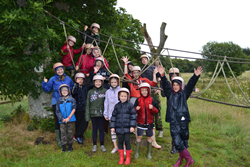 Scottish Borders CoM outdoor activity camp