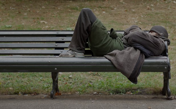 Rough Sleepers*The number of people sleeping rough in England has risen for the sixth year.