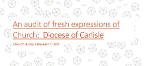 Diocese of Carlisle fxC report